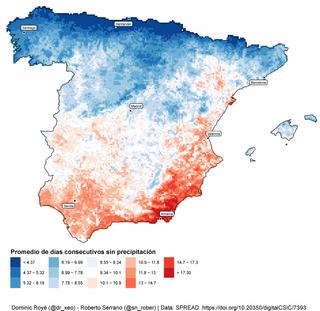 ¿Cuánto puede estar sin llover en España?: las rachas secas