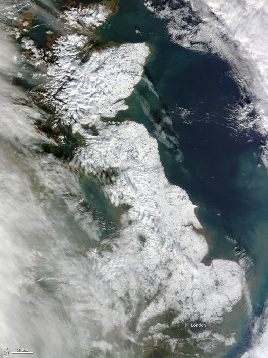 ¿el Calentamiento Del ártico Influye En El Tiempo Extremo Del Reino Unido?