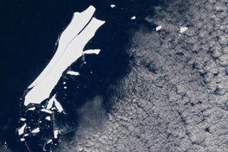 ¿El fin del viaje para el iceberg B-15Z?