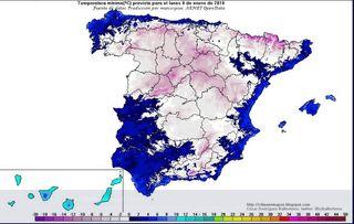 ¿Este intenso frío en España prueba que la Tierra no se está calentando?