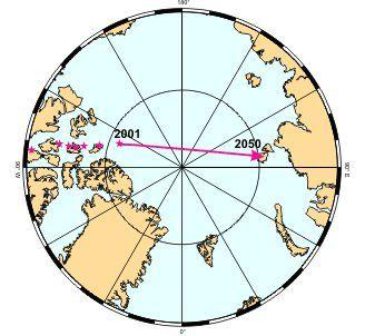 ¿por Qué El Polo Norte Magnético Se Dirige Hacia Siberia?