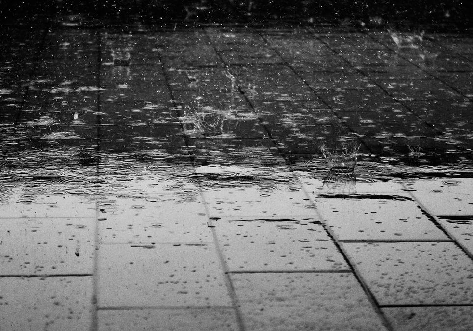 Geschwindigkeit von Regentropfen