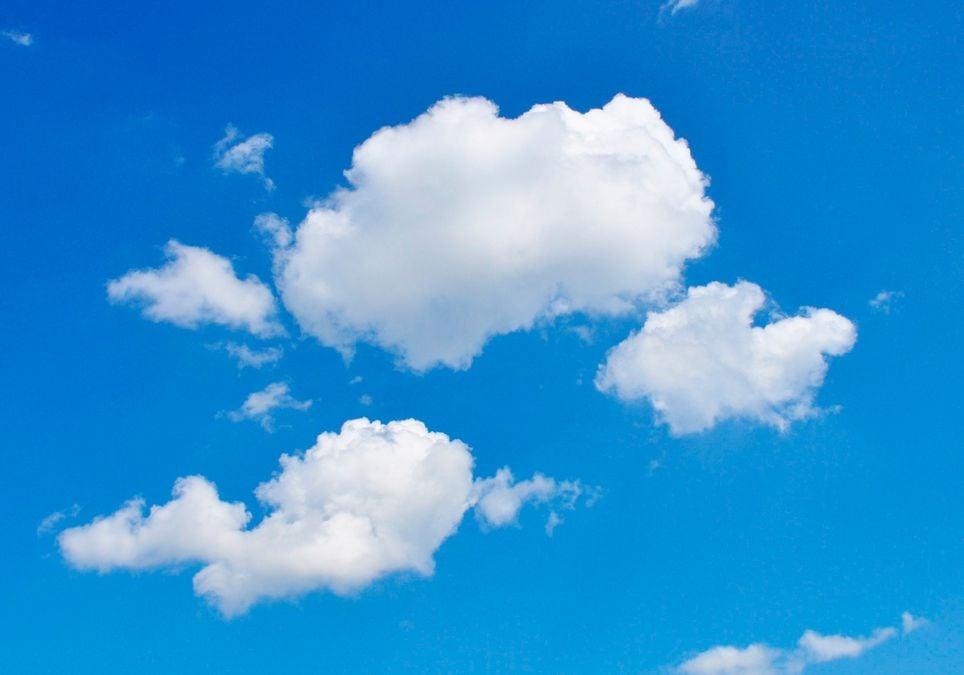 Wolke und Wasser