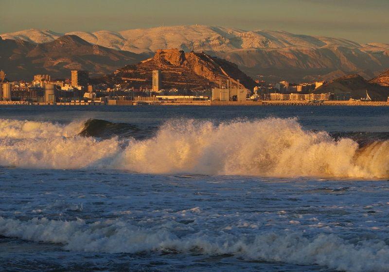 Nieve Alicante