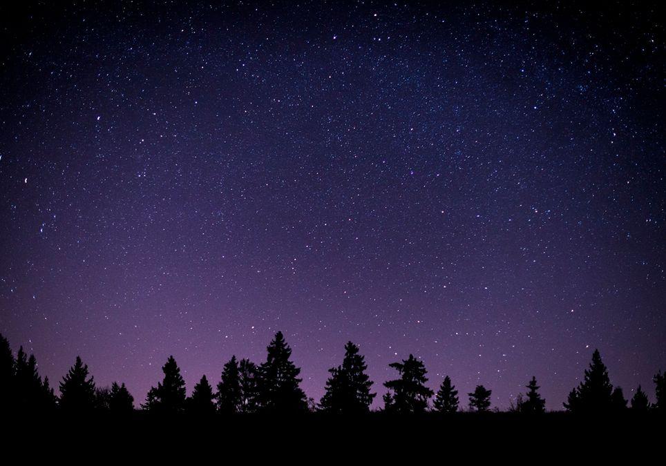 Funkelnder Sternenhimmel