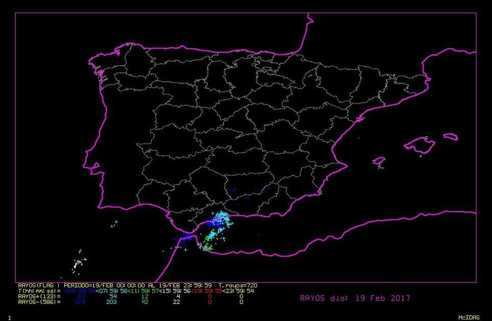 Se pudo predecir la tormenta de Málaga