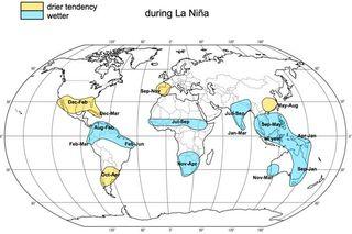 Los impactos de El Niño y de La Niña