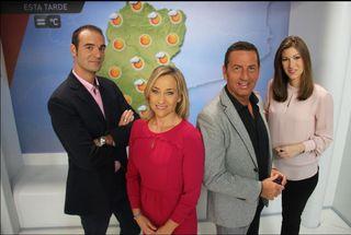 Entrevista del mes: Equipo del tiempo de Aragón TV