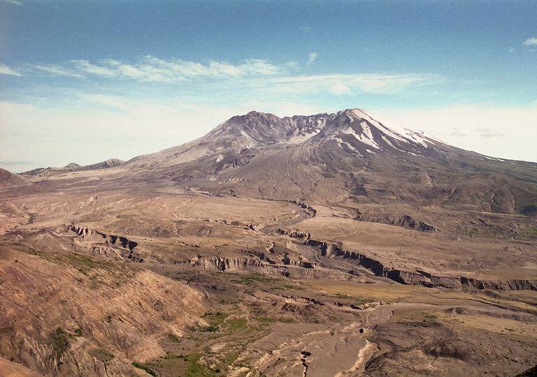 Monte Santa Helena nos Estados Unidos