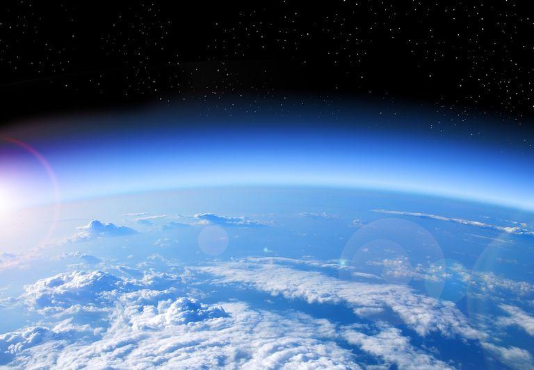 Planeta visto desde el espacio
