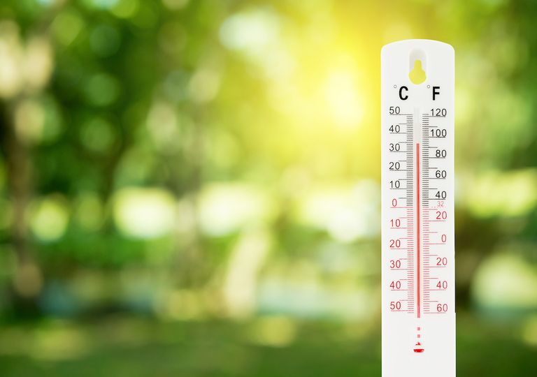Outdoor thermometer.