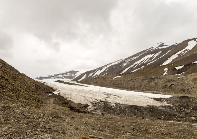 manto de gelo; Noruega; degelo