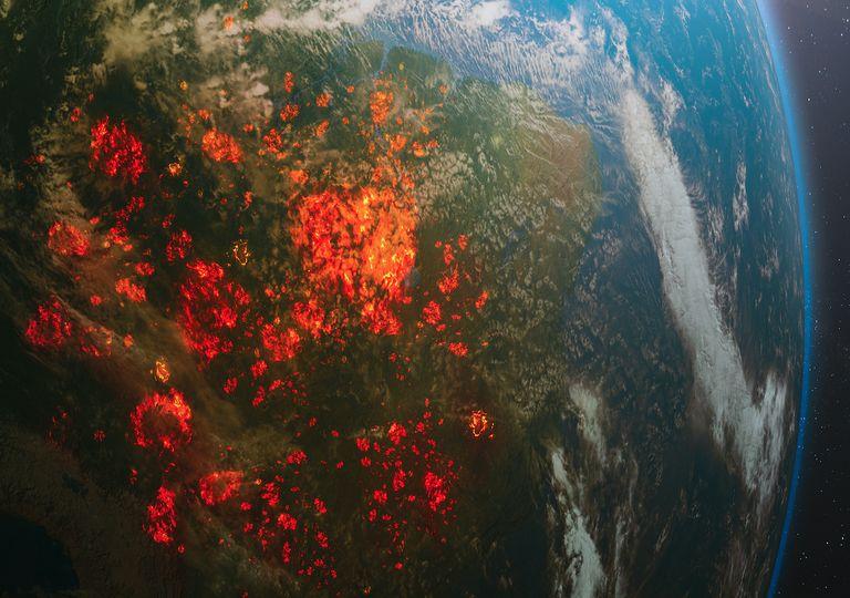 Amazon fires 2020