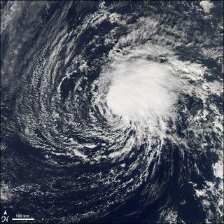 La tormenta tropical Zeta