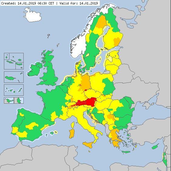 26 Muertos Por El Temporal De Nieve En Europa