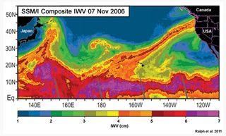 ¿Ríos atmosféricos en el Mediterráneo? Parte I