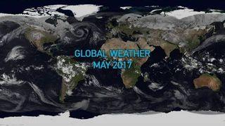 El tiempo en mayo de 2017