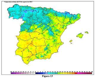 Olas de calor en España desde 1975. Parte II y final