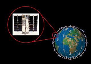 Un pequeño satélite experimental mide un dato clave