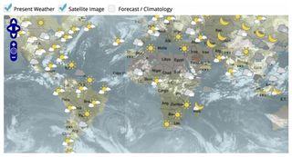Se reestructura el sitio Web del Servicio Mundial de Información Meteorológica