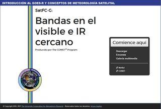 SatFC-G: Bandas en el visible e IR cercano