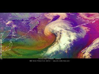 Las borrascas del Pacífico Norte se intensifican