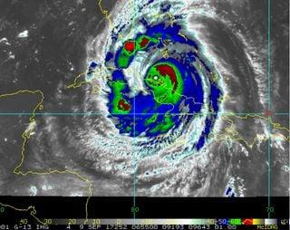 Midiendo el potencial destructivo de un huracán: el caso de Irma