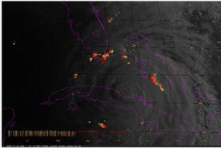 GOES-R y ciclones tropicales