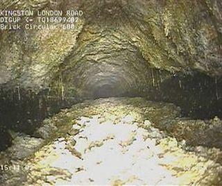 """Un """"monstruo"""" de 130 toneladas bajo Londres"""