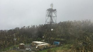 El radar meteorológico de Puerto Rico no resistió al huracán Maria