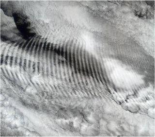 Las ondas de gravedad, el tiempo y el clima