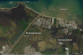 El paisaje de Puerto Rico devastado por el huracán Maria