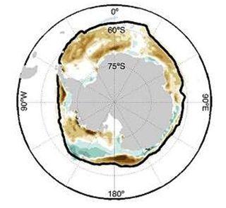 Hielo marino antártico de 2016 bajo mínimo ¿Por qué?