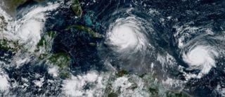 Septiembre de 2017: el mes más activo en huracanes del Atlántico