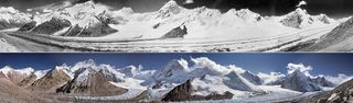 Fusión de los glaciares asiáticos