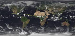 El tiempo global en septiembre 2017