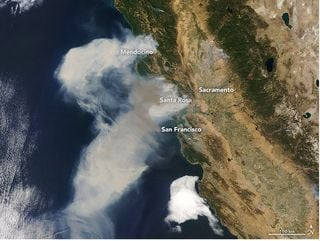 """Los fuegos en California y los vientos del """"Diablo"""""""
