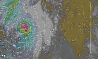 La tormenta tropical Ophelia y su posible transición extratropical frente a las costas de la Península. Parte II y final