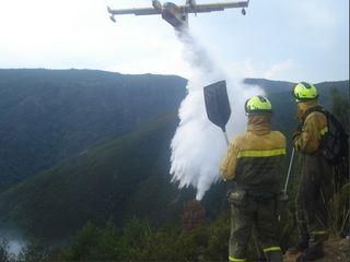 Se prolonga la campaña de verano de incendios forestales 2017