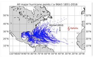 Ophelia: ¿Qué hace un gran huracán como tú en un lugar como éste?