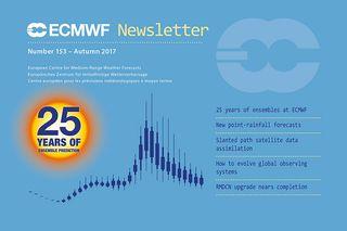 Boletín de otoño 2017 del ECMWF