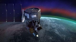 ICON explorará el límite entre la Tierra y el espacio