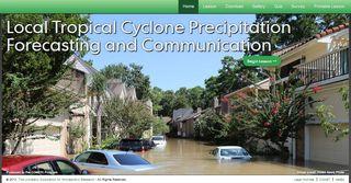Predicción y comunicación de las amenazas de lluvias locales de los ciclones tropicales