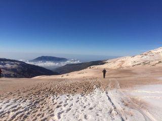 Incidencia del polvo sahariano en Sierra Nevada