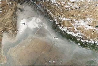 Aire irrespirable en el norte de la India: emergencia de salud nacional