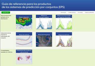 Guía de referencia para los productos de los sistemas de predicción por conjuntos (EPS)