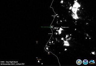 """Satélites meteorológicos """"ven"""" el lanzamiento de otro satélite"""