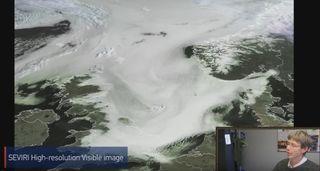 ¿Cómo detectar y monitorear nubes bajas en imágenes satelitales?
