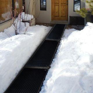 Melt Mat: acelerando el deshielo y la nieve indeseada