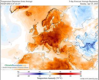 Masiva irrupción de polvo africano sobre zonas del Mediterráneo y de Europa